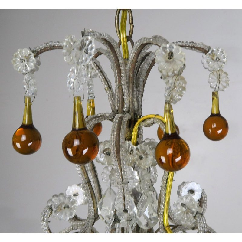 amber-drop-crystal-beaded-chandelier-8760