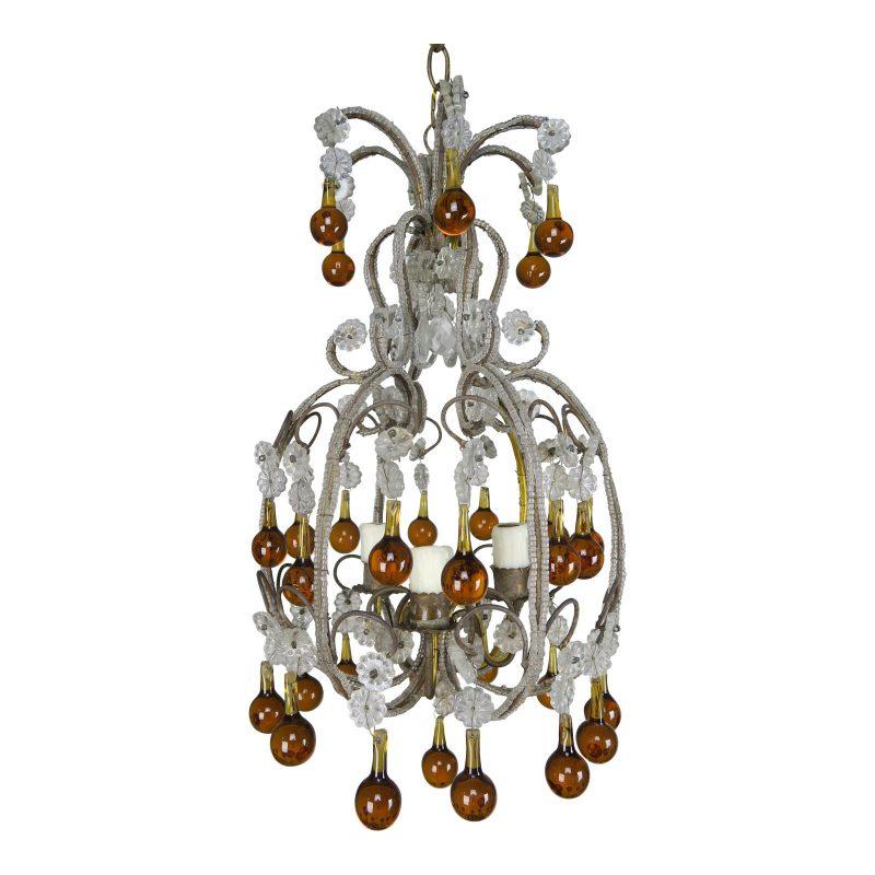 amber-drop-crystal-beaded-chandelier-8891