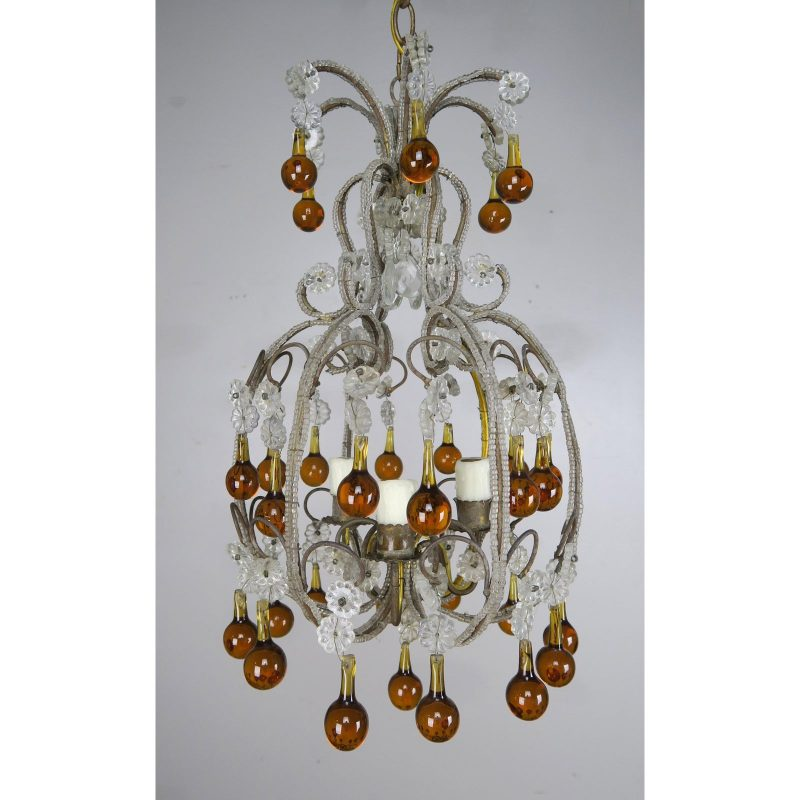 amber-drop-crystal-beaded-chandelier-8975