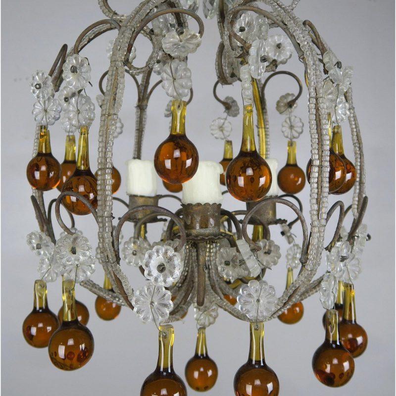 amber-drop-crystal-beaded-chandelier-9427
