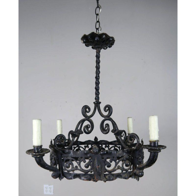 antique-spanish-wrought-iron-chandelier-4032 (1)