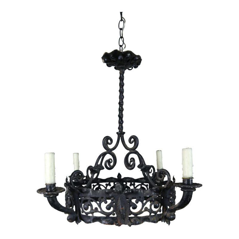 antique-spanish-wrought-iron-chandelier-7380 (1)