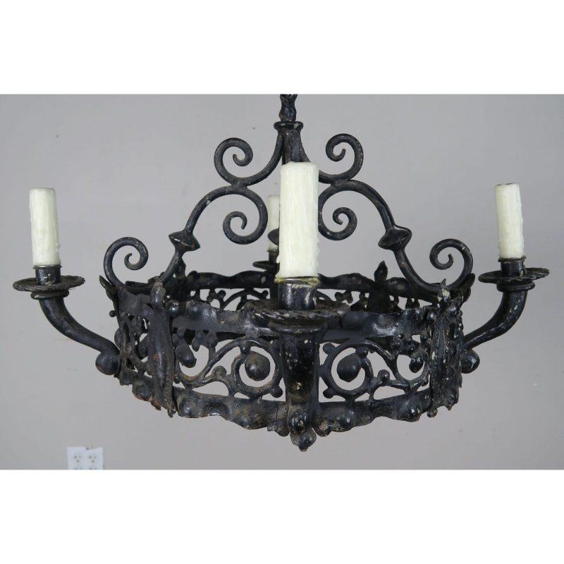 antique-spanish-wrought-iron-chandelier-8593 (1)