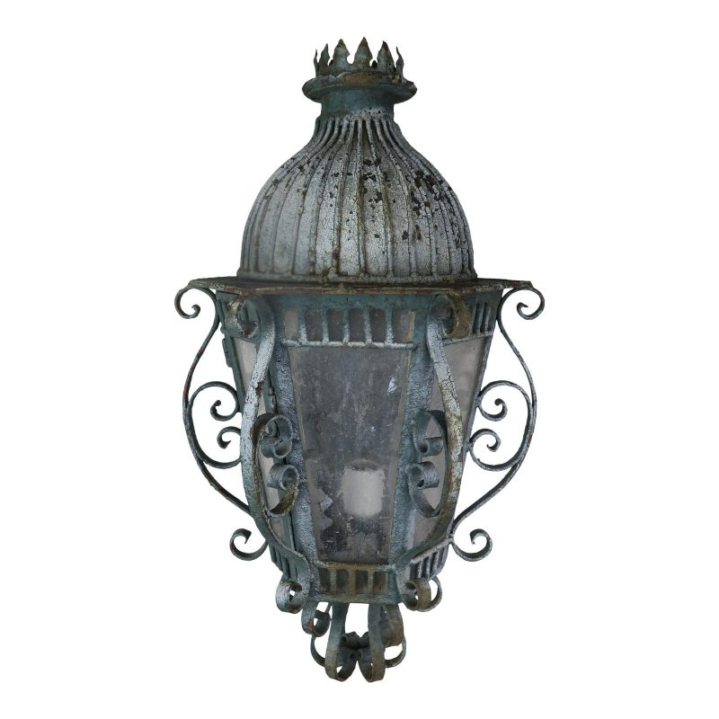 french-wrought-iron-painted-lantern-sconce-0315