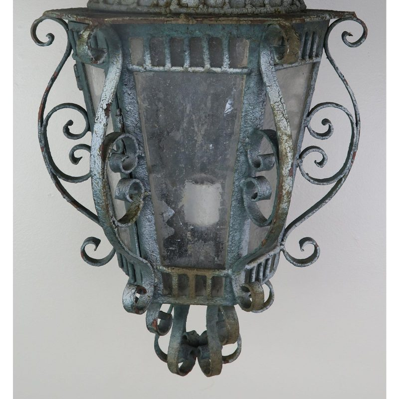 french-wrought-iron-painted-lantern-sconce-3469