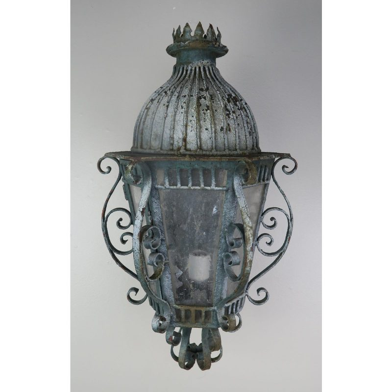 french-wrought-iron-painted-lantern-sconce-4199