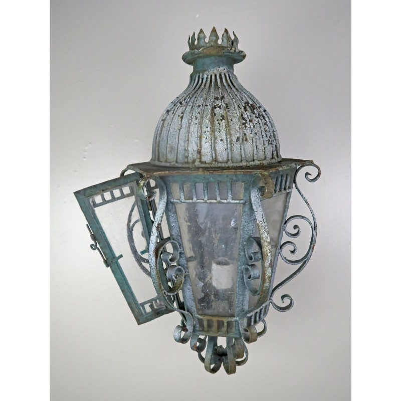french-wrought-iron-painted-lantern-sconce-8281