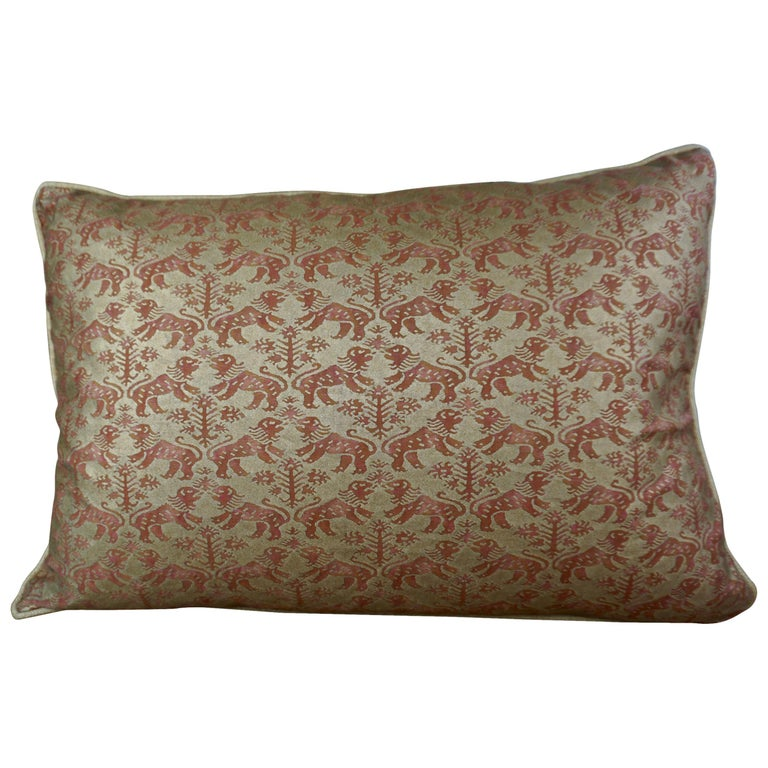 Pair of Fortuny Textile Accent Pillows $950