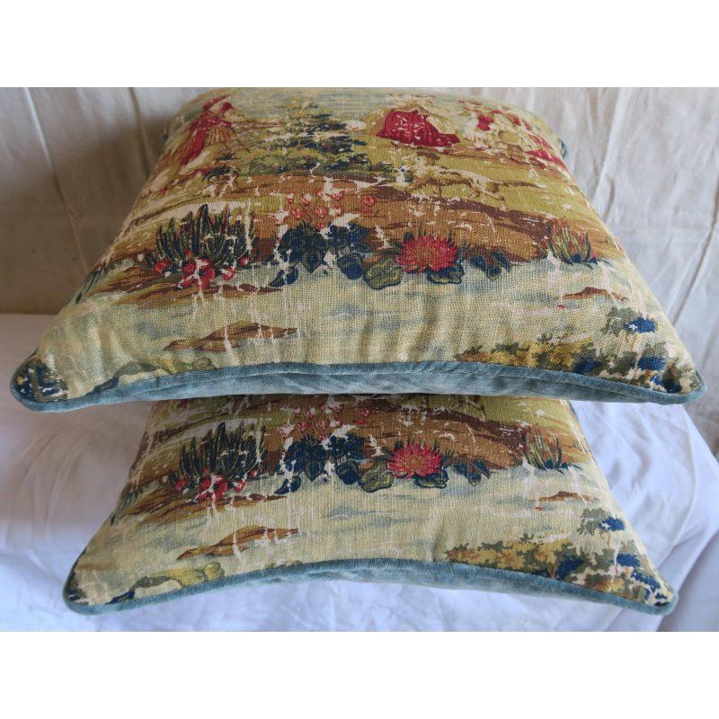 figural-printed-linen-pillows-pair-5957