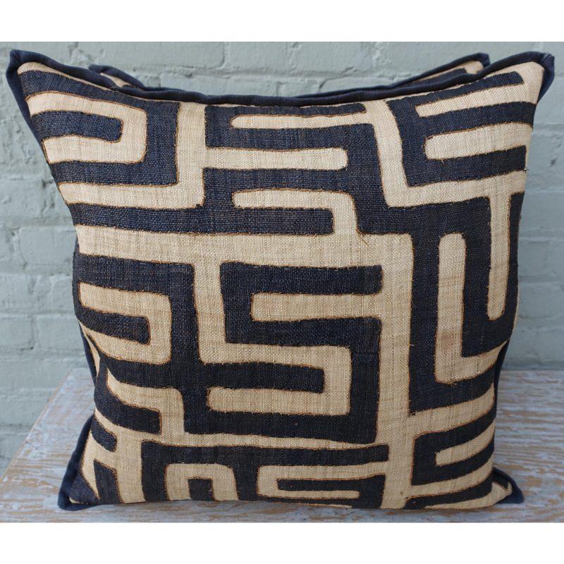 large-square-black-and-tan-african-kuba-cloth-pillows-pair-0368