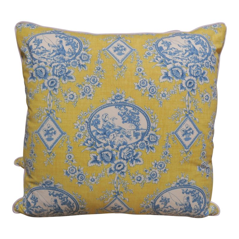 pair-of-blue-and-yellow-toile-printed-pillows-3555