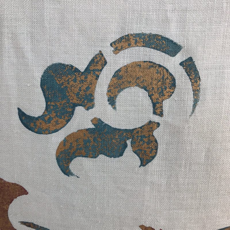 stenciled-cream-linen-pillows-a-pair-1442