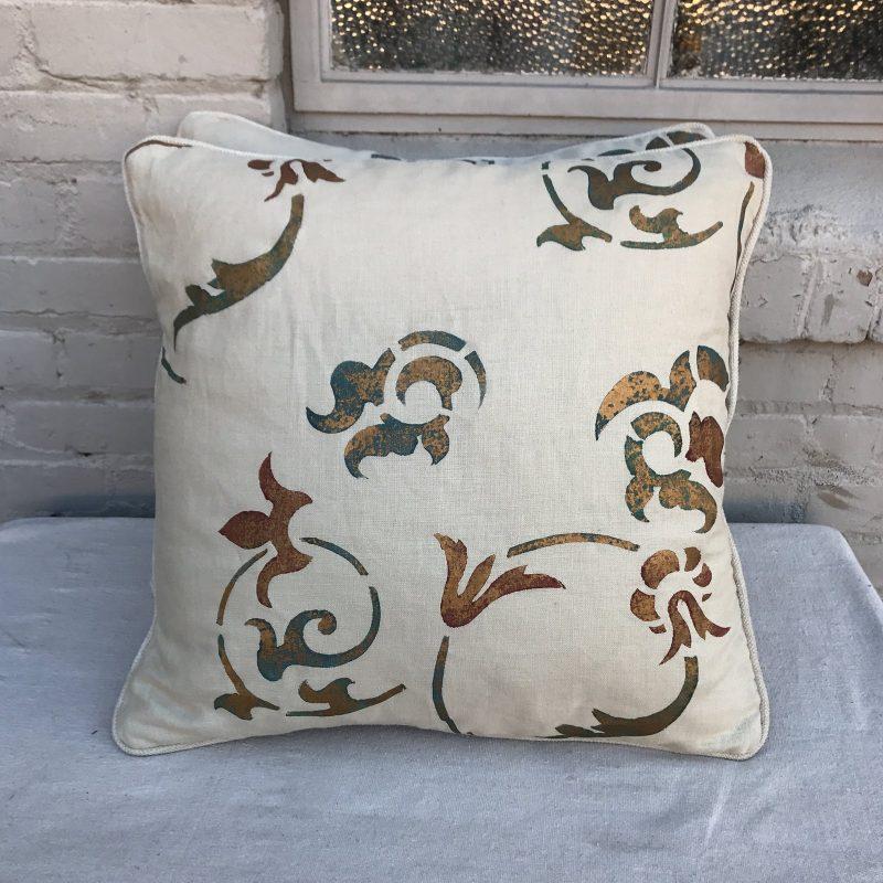stenciled-cream-linen-pillows-a-pair-5736