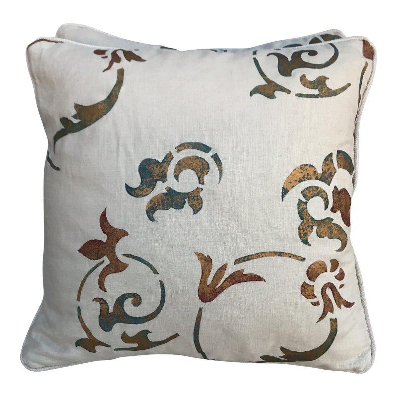 stenciled-cream-linen-pillows-a-pair-7779